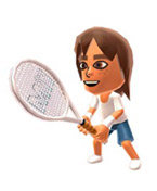 You can also play using your own Mii character, whom you can upgrade and customise