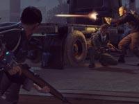 Joel overlooking the overgrown, post-apocalyptic world of The Last of Us