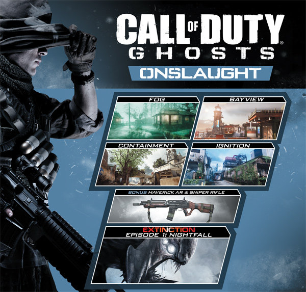 Amazon Co Uk Pc Video Games Call Of Duty Ghosts Onslaught