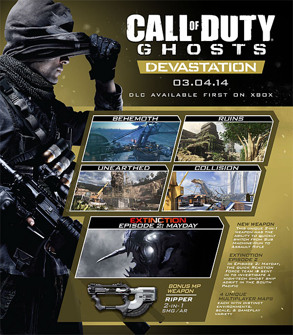 Amazon Co Uk Pc Video Games Call Of Duty Ghosts Devastation Dlc