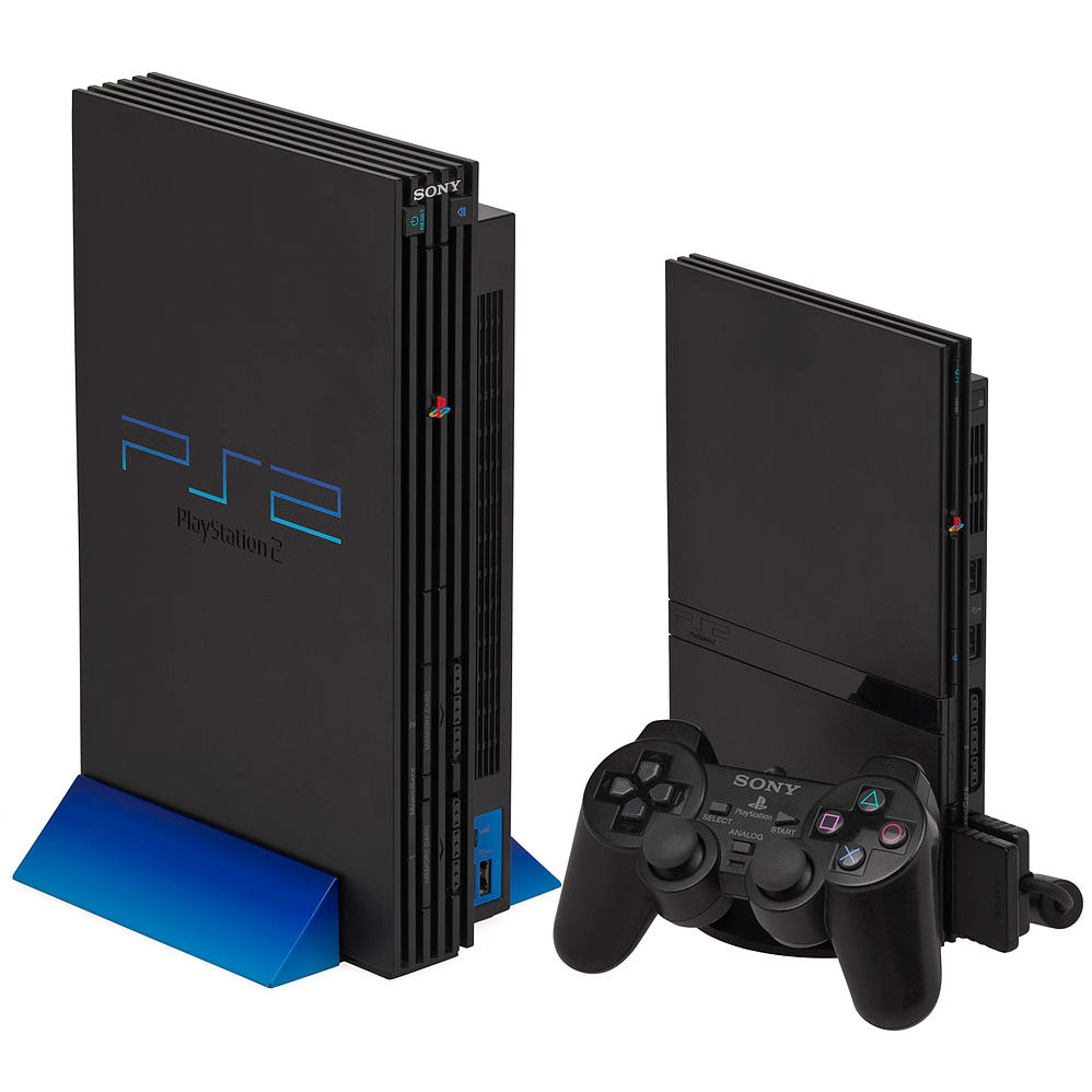 Sony PS2 Slimline Console (Black) (PS2): Amazon.co.uk: PC