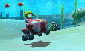 New courses take players on wild rides, including through the sky and underwater