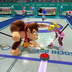 Includes a range of realistic sports such as skiing, figure skating, and curling