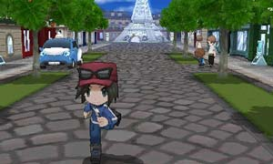 Lumiose City, the centre of the Kalos region