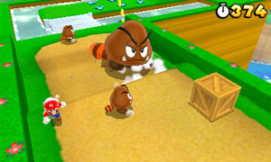 New enemies include Goombas with tails and ink-spitting Piranha Plants
