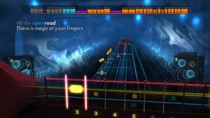 Experience playing alongside a virtual band