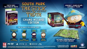 The Grand Wizard Edition includes the fellowship pack, Cartman figure, and map