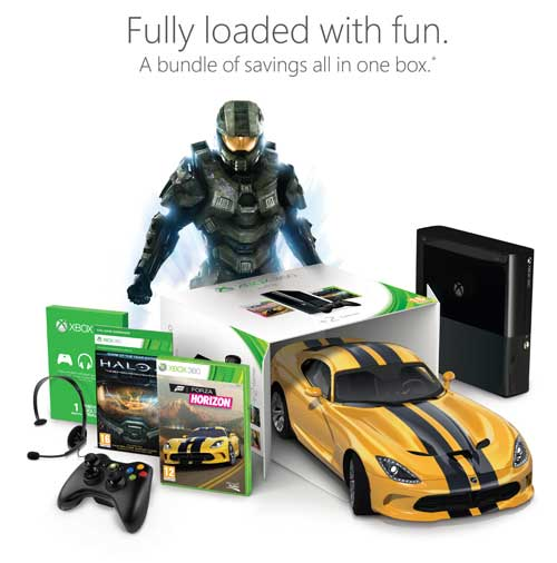 Xbox 360 250GB Console Plus Halo 4 Game Of The Year