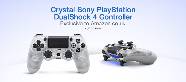 Crystal Sony PlayStation DualShock 4 Controller