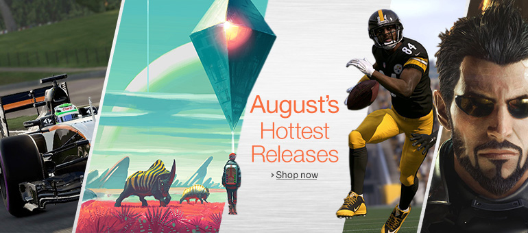 August's Hottest Releases