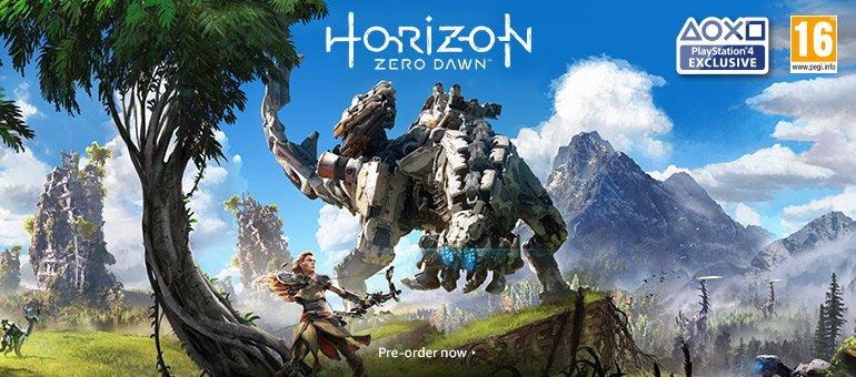 Horizon Zero Dawn - pre-order now