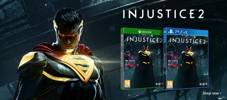 Injustice 2 - Shop Now
