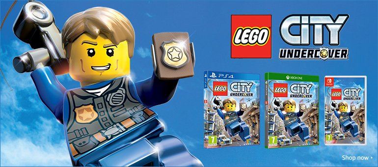 Lego City Undercover Shop Now