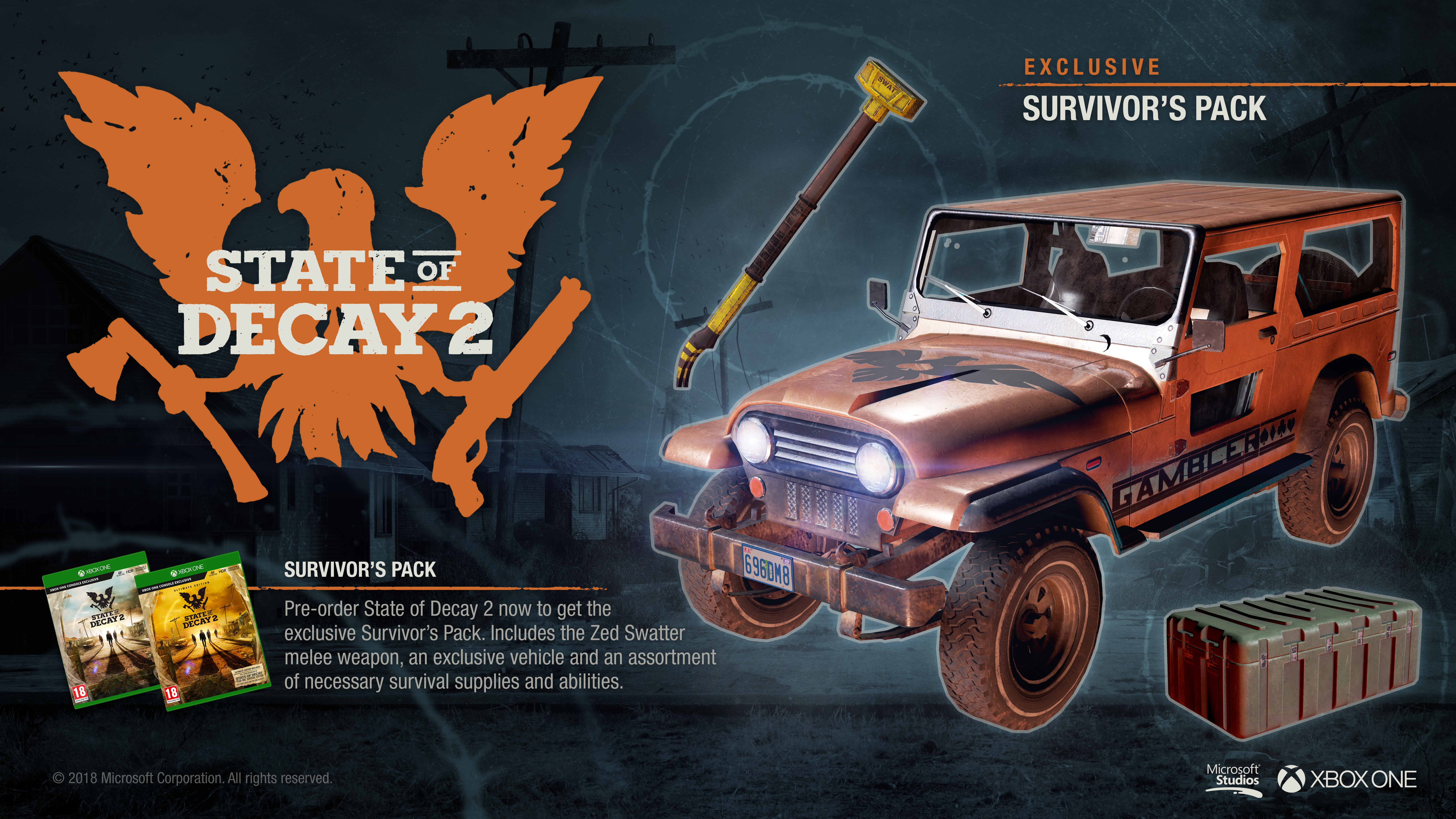 state of decay 2 steam key