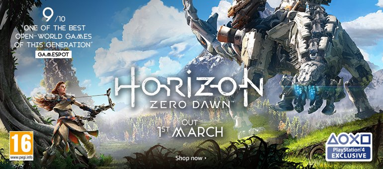 Horizon Zero Dawn - shop now