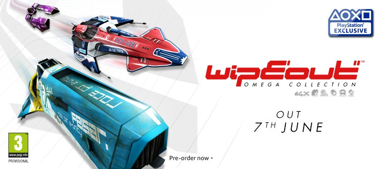 WipEout Omega Collection - Pre-Order Now