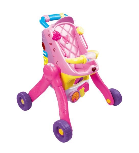 Vtech little love 3 in 1 pushchair toys games for Bureau vtech 3 en 1