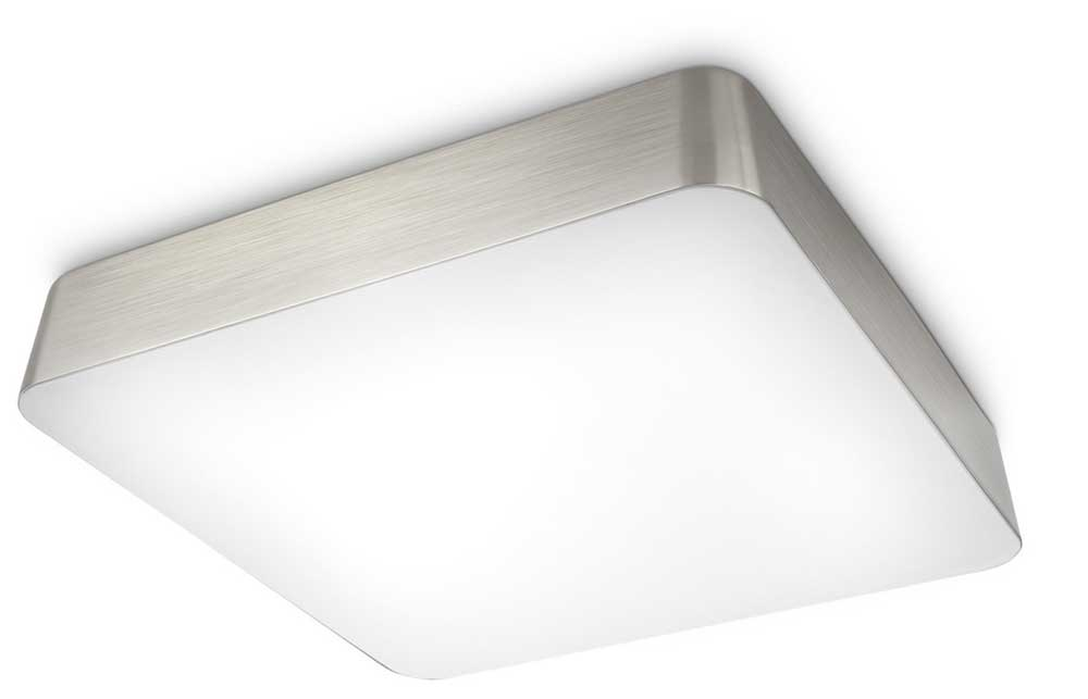 philips instyle plano bathroom ceiling light nickel and brass plated
