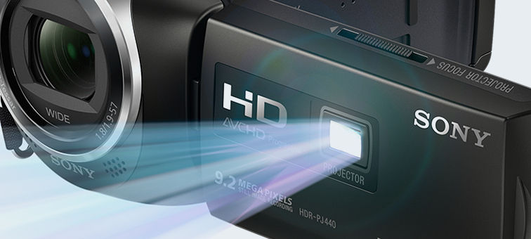 Sony hdr pj410 full hd camcorder with built in - Proyector worten ...