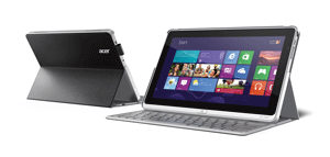 The P3 can be switched easily between a tablet and a regular notebook.