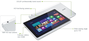 The P3 can be used in modes for productivity, pleasure, and portability.