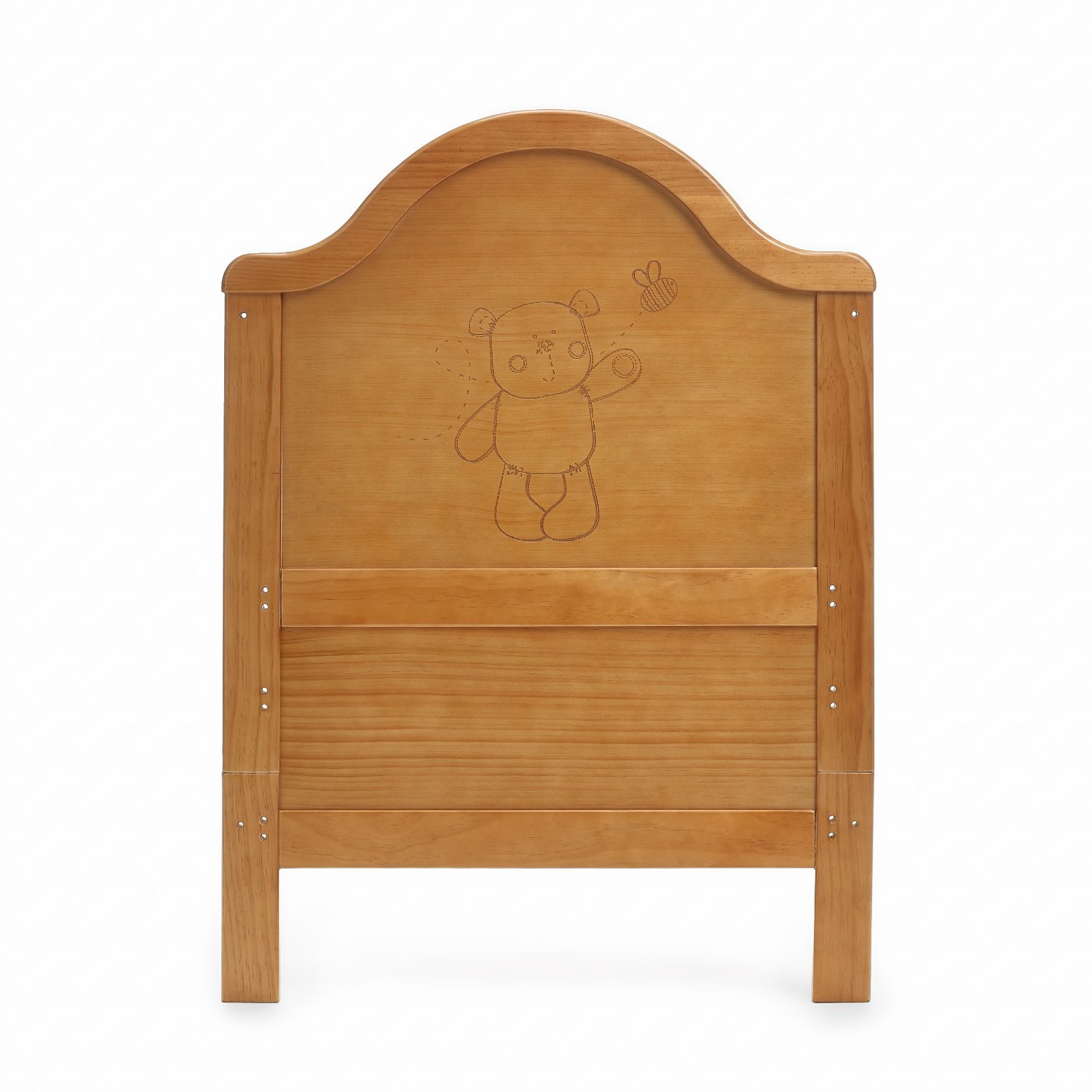 Obaby B Is For Bear Cot Bed Country Pine Amazon Co Uk Baby
