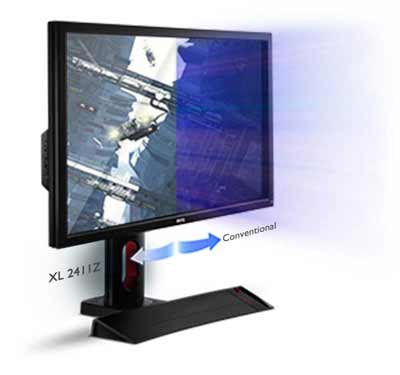 BenQ XL2411Z 24 inch 144 Hz e-Sports Gaming Monitor (1 ms Response Time,  FPS Mode, Black eQualiser, Flicker-free, Height Adjustment Stand, HDMI x 2)  -