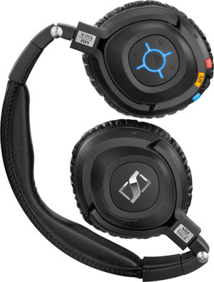 Sennheiser MM 550-X TRAVEL Bluetooth-Wireless-Headset mit Noise Cancelling