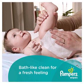 Bath-like clean for a fresh feeling