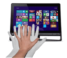 Suspend actions in Windows 8 by waving