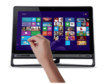 Select applications in Windows 8 by grabbing