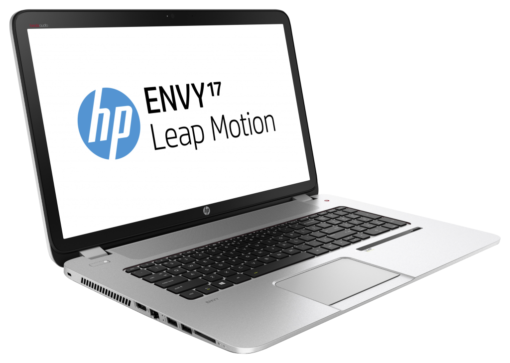 hp 17 3 inch envy leap motion se notebook pc silver. Black Bedroom Furniture Sets. Home Design Ideas