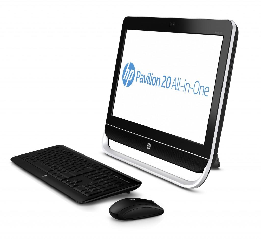 hp pavilion 20 b130ea all in one desktop pc amd e1 1200. Black Bedroom Furniture Sets. Home Design Ideas