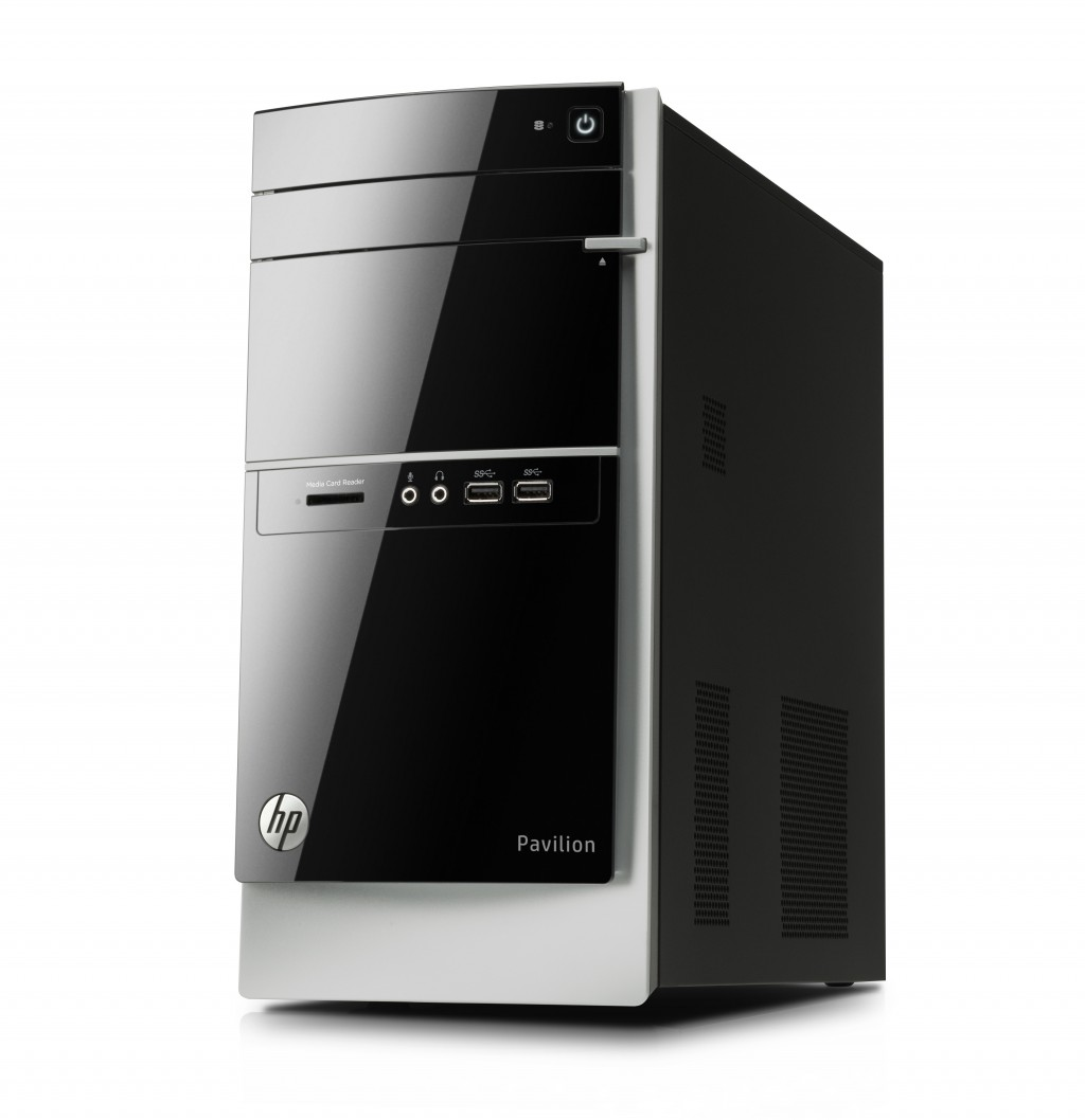 hp pavilion 500 030ea desktop pc intel core i5 3330s 2. Black Bedroom Furniture Sets. Home Design Ideas
