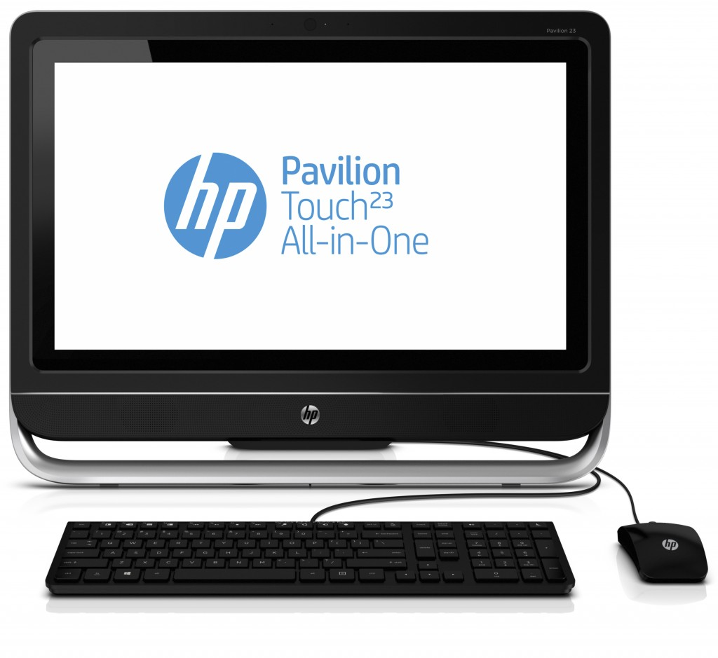 hp pavilion ts 23 f210ea aio desktop pc bundle intel. Black Bedroom Furniture Sets. Home Design Ideas