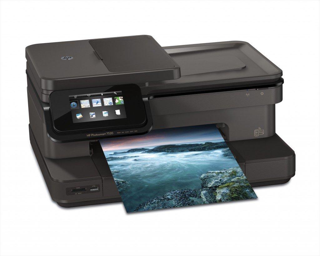 HP Photosmart 7520 User Manual