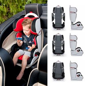 Hauck Bodyguard Group 2/3 Car Seat - Black/Beige: Amazon.co.uk: Baby