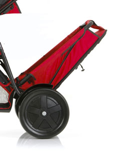 Removable rear seat