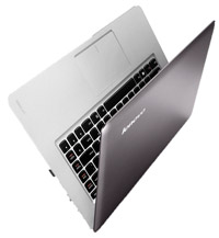 The Lenovo IdeaPad U410 delivers up to nine hours battery life