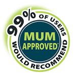 Mum Approved logo