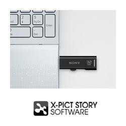 Sony USM16GR 16GB Microvault USB Flash Drive