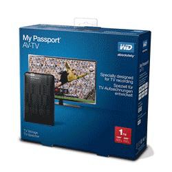 My Passport AV-TV packaging