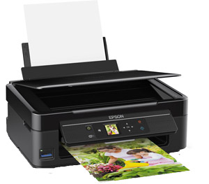 The Expression Home XP-312 offers mobile printing, Wi-Fi connectivity and an LCD screen
