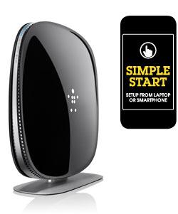 Belkin AC 1800 Wi-Fi Dual-Band AC+ Gigabit Router