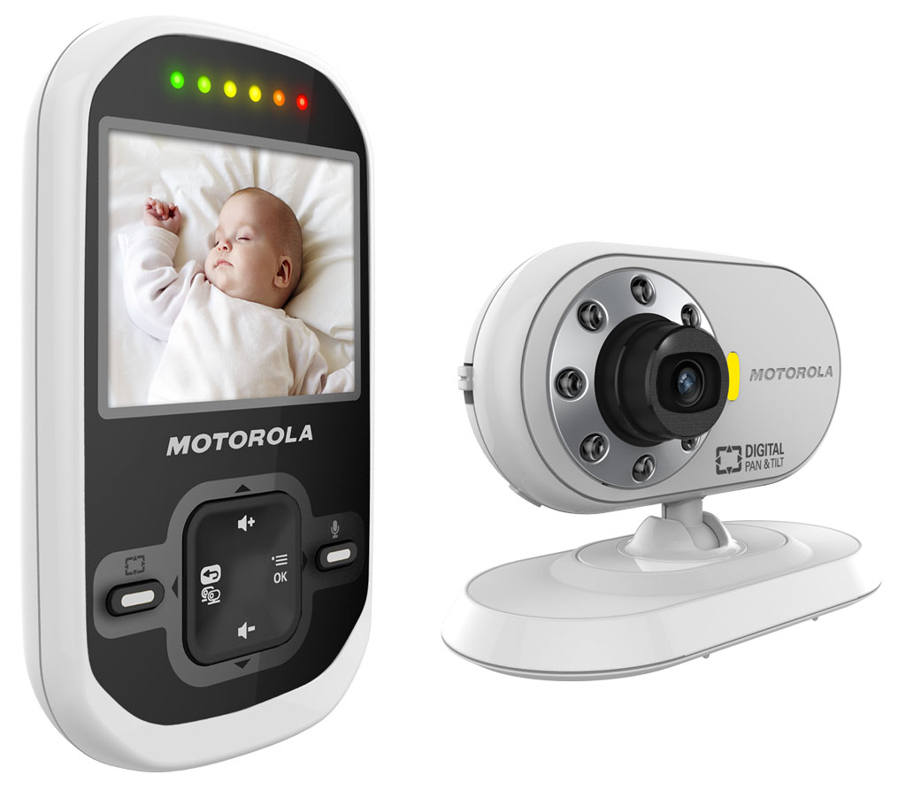 Motorola MBP26 Twin Camera Digital Video Baby Monitor