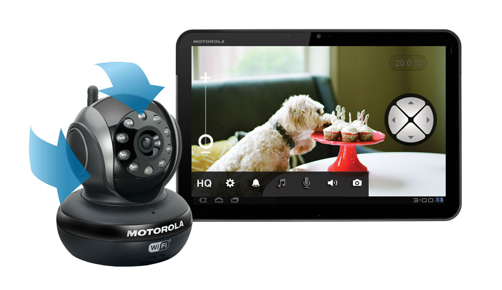 Motorola Scout 1.1 Wi-Fi Video Pet Monitor: Amazon.co.uk ...