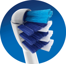 TriZone brush head