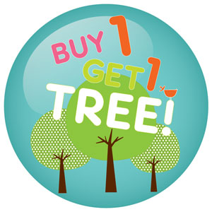 Buy one get one tree