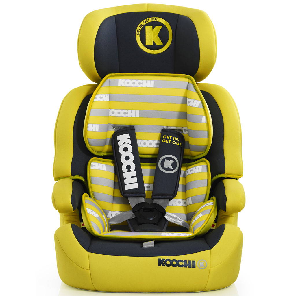 Koochi Car Seat Yellow