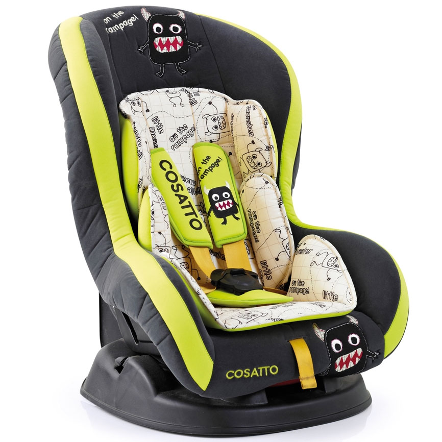 Cosatto Moova Group 1 Car Seat - Little Monster: Amazon.co.uk: Baby